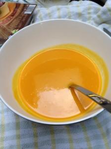 Het leven van een Weight Watcher: soep, soep en nog eens soep.