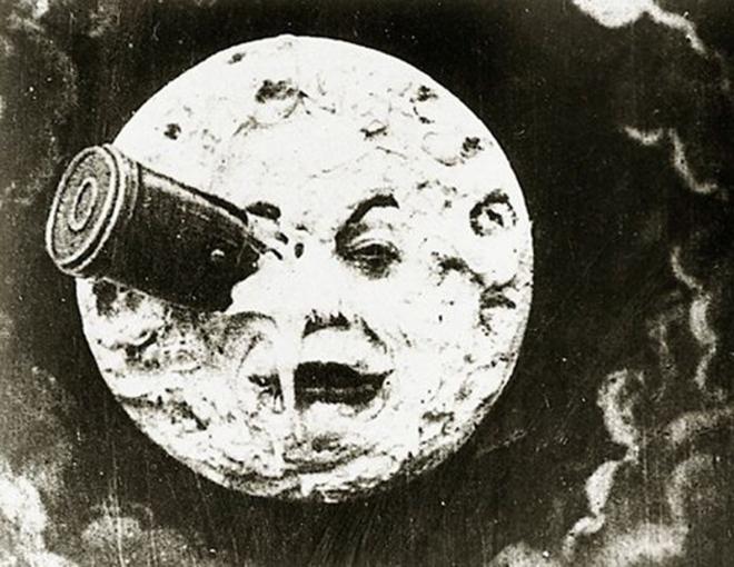 Bekendste beeld uit 'Le Voyage Dans La Lune'