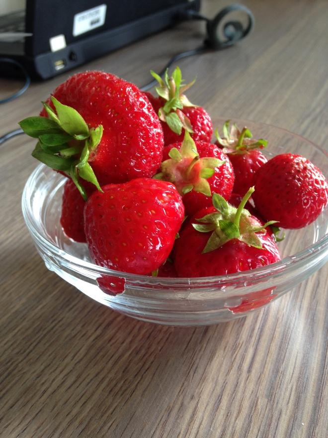 Dé aardbeien to end all andere aardbeien.