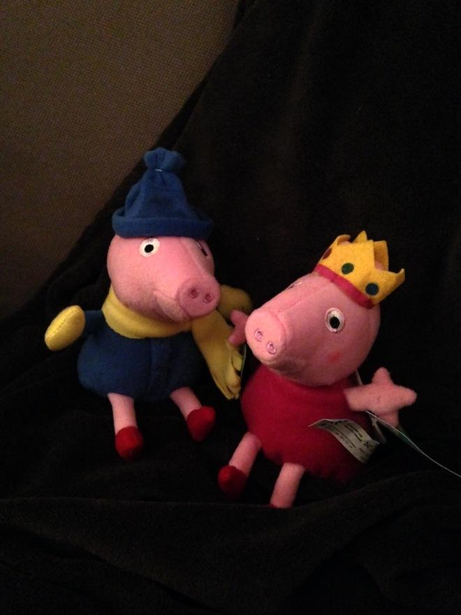 Ik won in een lunapark op de kerstmarkt in Gent niet één maar TWEE varkentjes. Met maar 2 grijpbeurten!