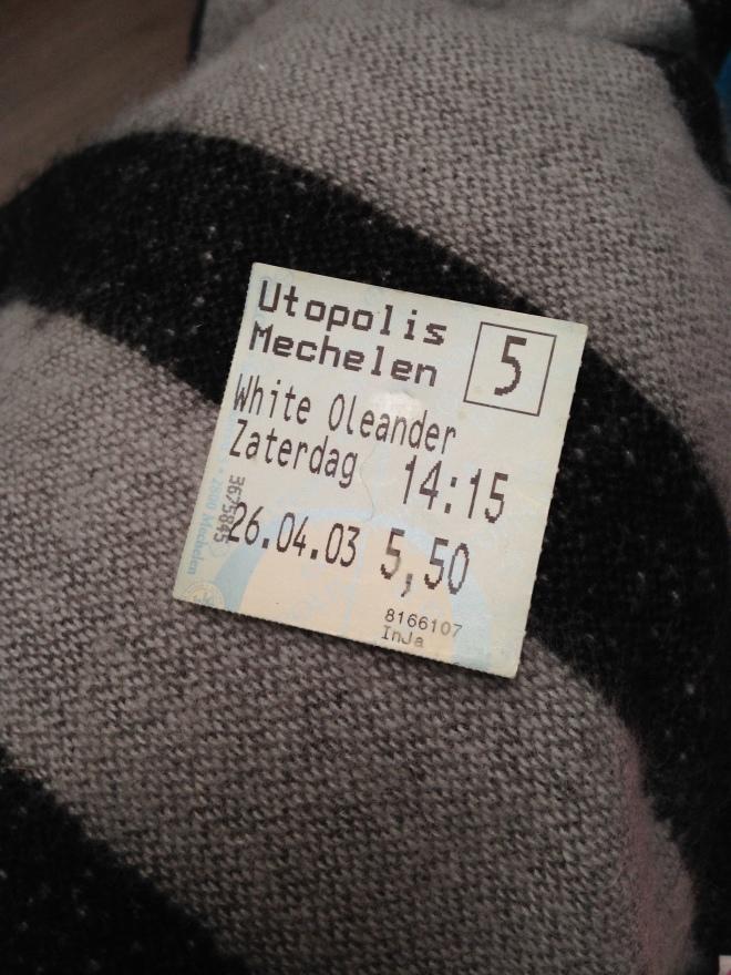 Het oudste ticketje dat ik vond!