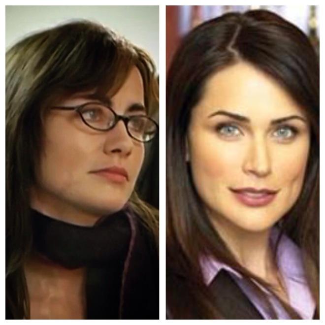 Hoe hard lijkt die journaliste trouwens op die actrice Rena Sofer uit Mooi en Medogenloos?